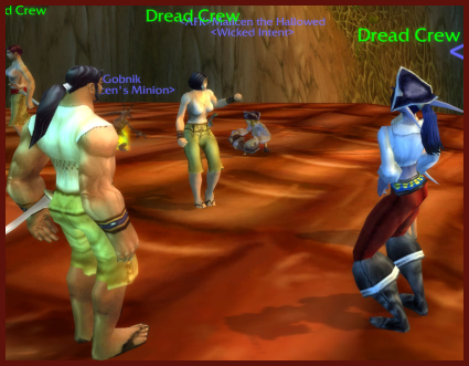 I get my dance on with the Dread Crew